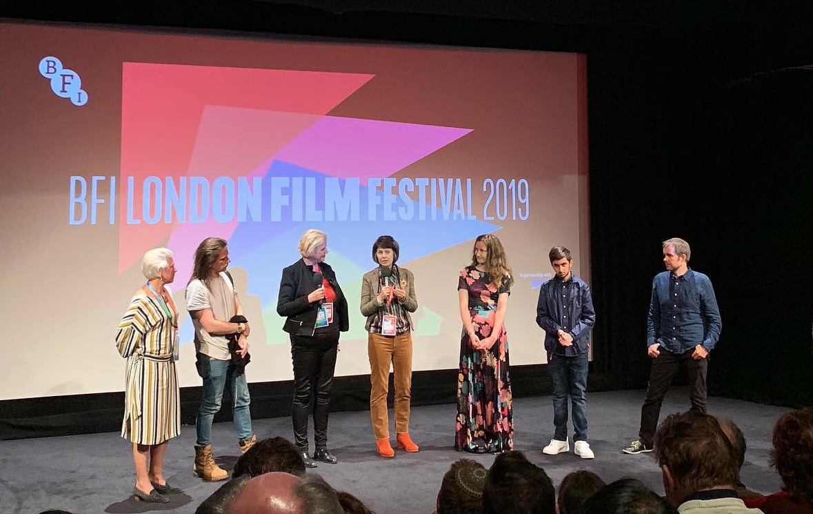 Cast and crew of The Deathless Woman at BFI London Film Festival